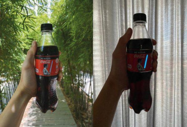 Инновационная бутылка от Coca-Cola