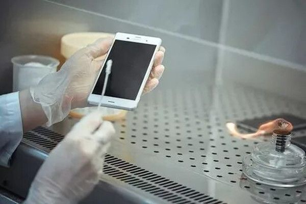 Обработка смартфона